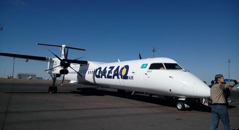 Qazaq Air соединила Астану и Жезказган