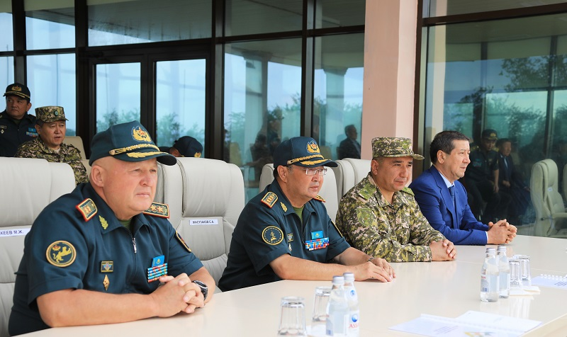 Армейские международные игры стартовали в Казахстане
