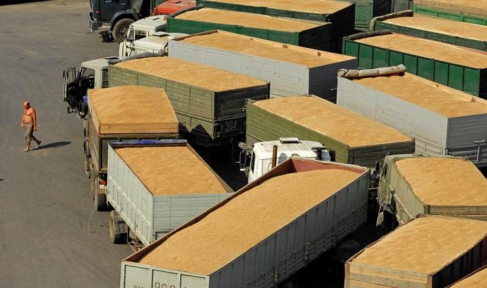 Костанайское зерно покидает страну