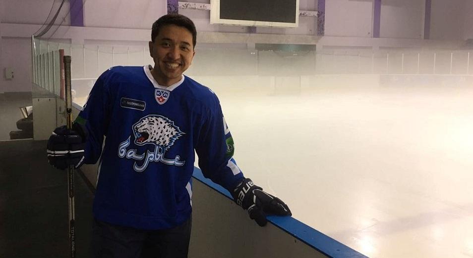 Глава «Даму» избран членом исполкома казахстанской федерации хоккея с шайбой