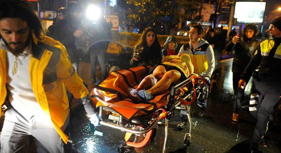 Теракт в Стамбуле унес жизни 39 человек