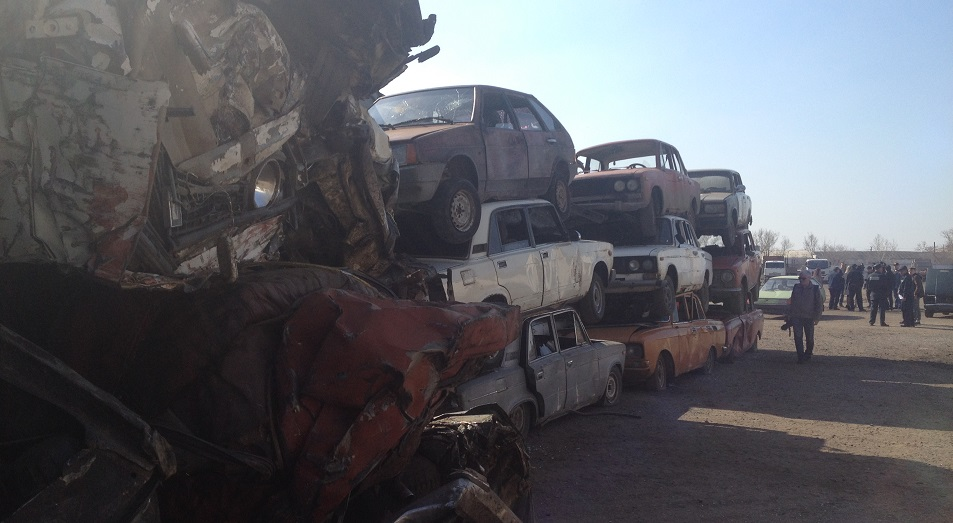 848 автомобилей ушло в утиль в Павлодарской области