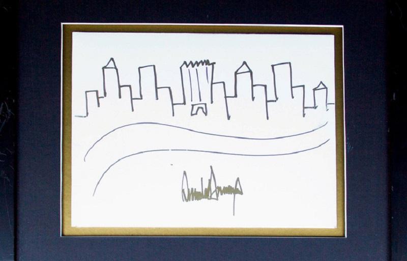 Рисунок Трампа продали на аукционе почти за $30 тысяч