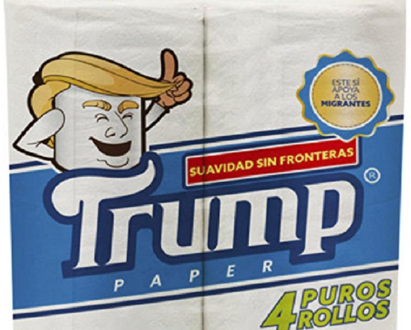 В Мексике планируют выпускать туалетную бумагу с изображением Трампа