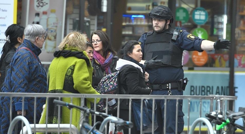 Столица Швеции атакована террористами