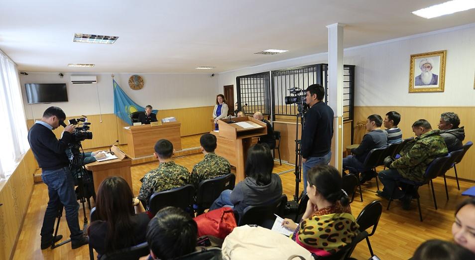Офицеры, обвиняемые по делу о терактах в Актобе, сделали громкое заявление