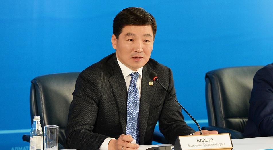 Аким Алматы: «Мы будем выдавливать частный транспорт»