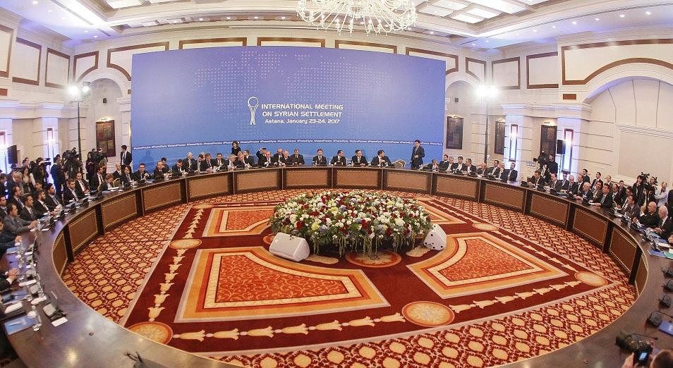 Астана келіссөзінің Сириядағы жағдайға әсері