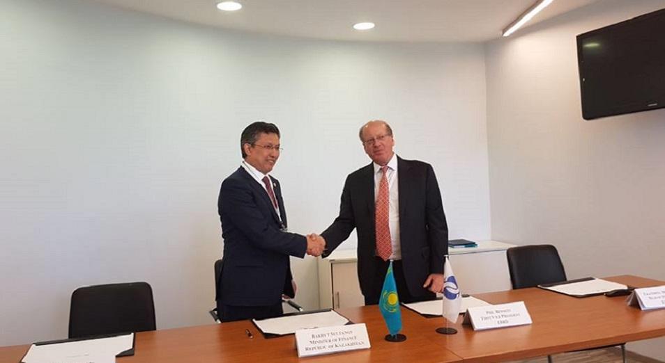 ЕБРР предоставляет Казахстану до 180 миллионов долларов