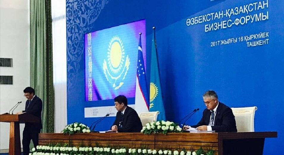 На узбекско-казахстанском бизнес-форуме ожидается подписать контракты более чем на 560 миллионов долларов