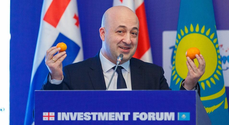 Грузия хочет поставлять в Казахстан больше мандаринов