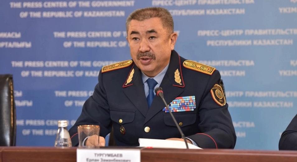 Несчастный случай – вероятная причина пожара автобуса в Актюбинской области