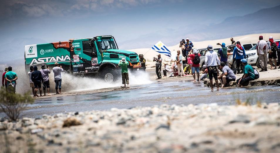 Шилов впервые был третьим на Дакаре