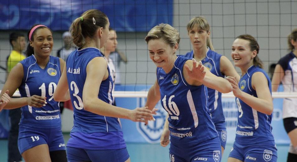 Волейболистки «Алтая» вышли в полуфинал Чемпионата Азии среди клубов