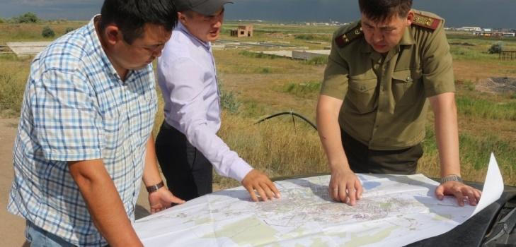 ЧС определили 10 участков возможного подтопления в одном из районов Астаны