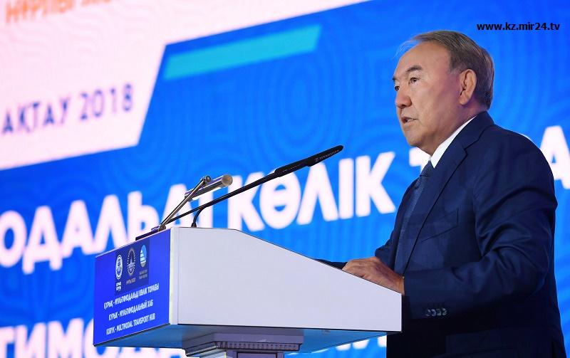 Конвенция по Каспию должна быть использована для стимулирования товарооборота прибрежных стран - Назарбаев