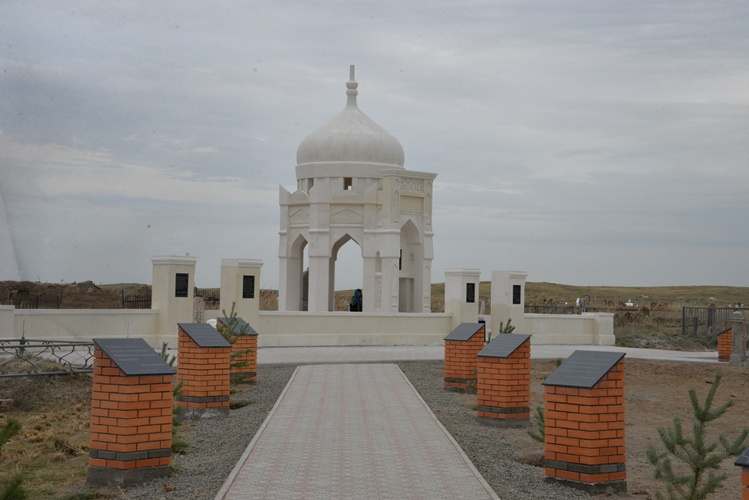 В Павлодарской области открыли мавзолей Мусы Шорманова