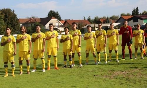 Казахстанская «молодежка» уступила Словении в отборочном туре ЧЕ-2019