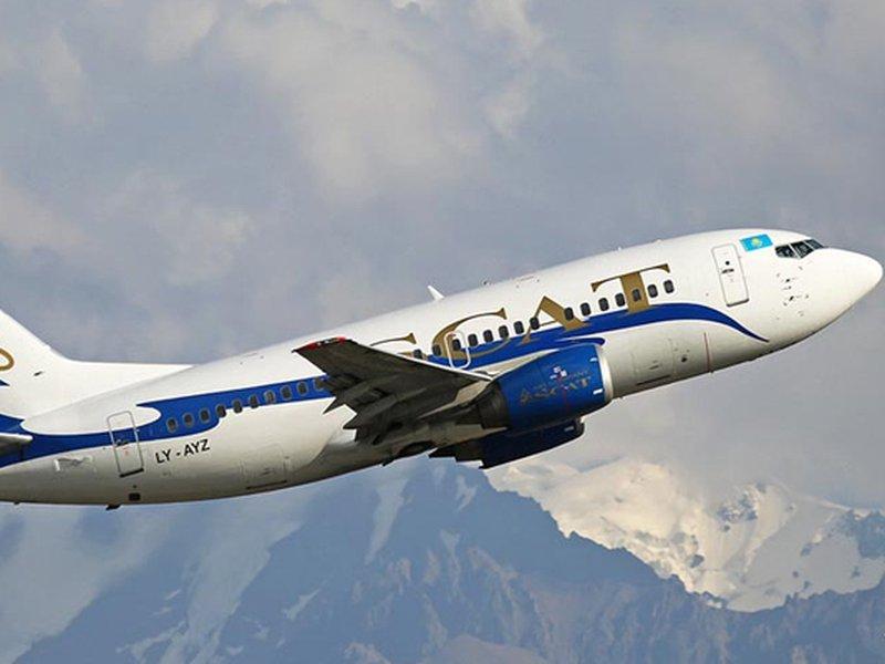 SCAT запустила рейс Астана – Челябинск