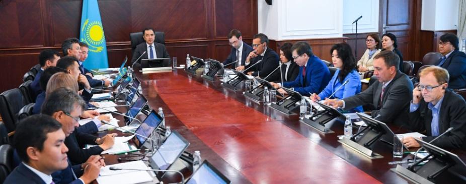 Бакытжан Сагинтаев обсудил с инвесторами вопросы улучшения бизнес-климата в РК