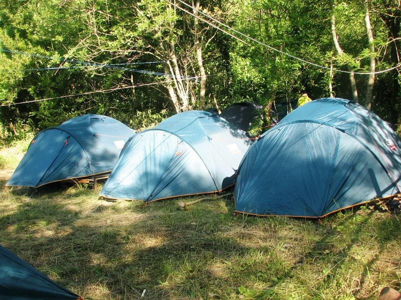 Молодежный образовательный лагерь открылся в Акмолинской области