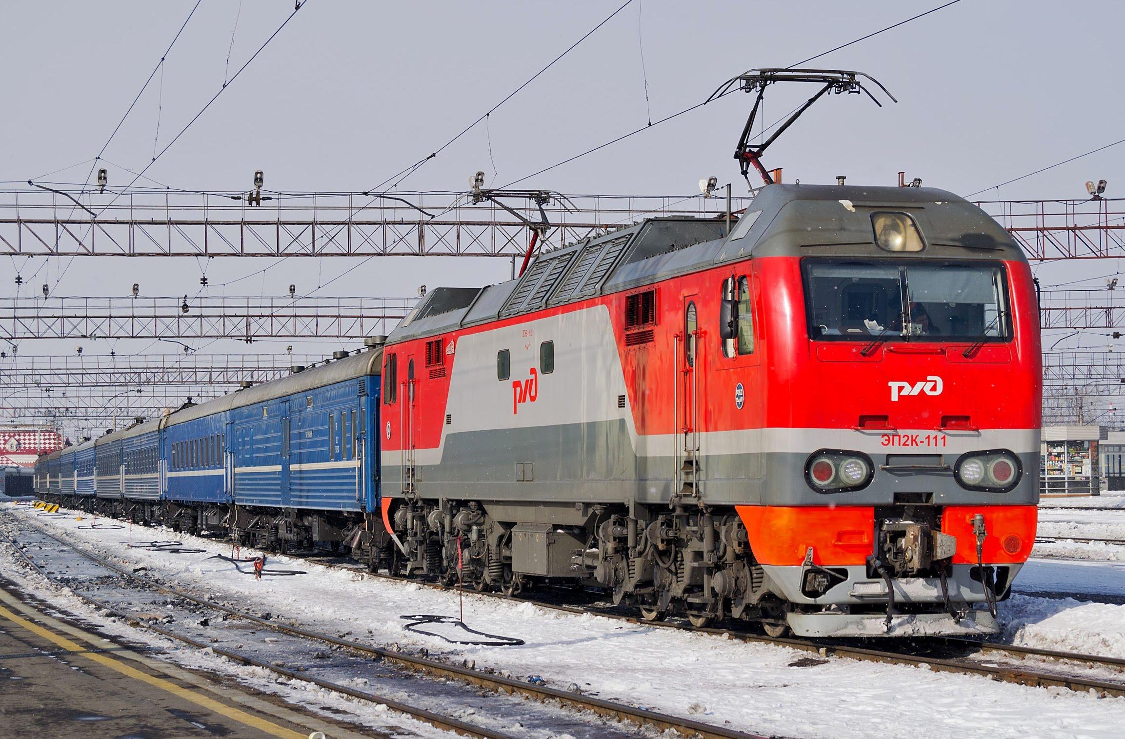 Пассажирский ж.-д. маршрут Томск – Караганда планируют запустить 9 декабря