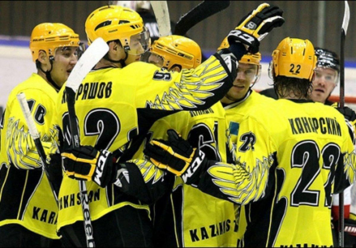 ХК «Сарыарка» одержал первую победу в сезоне
