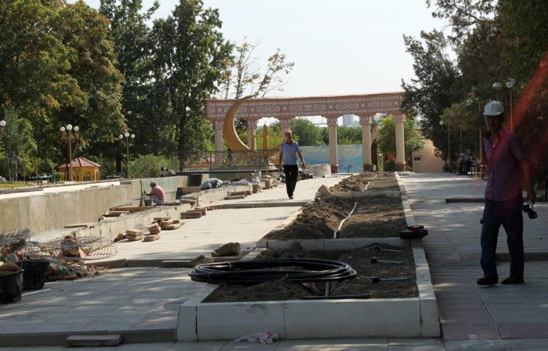 Шымкентский дендропарк преобразится к юбилею