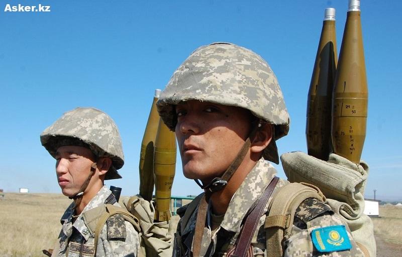 """Казахстанские военные лидируют в конкурсе АРМИ """"Мастера артиллерийского огня"""""""