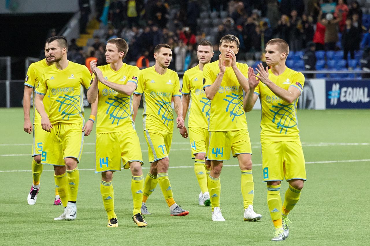ФК «Астана» вышел в лидеры группы Лиги Европы