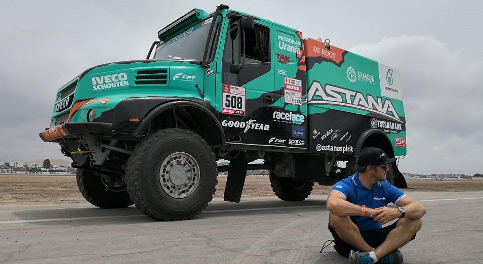Ардавичус перед «Дакаром»: «Iveco побаиваюсь, но грузовик чемпионский»