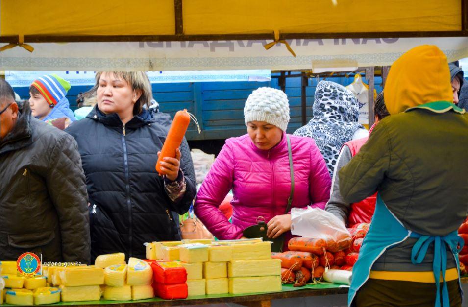 В Астане проходит сельскохозяйственная ярмарка