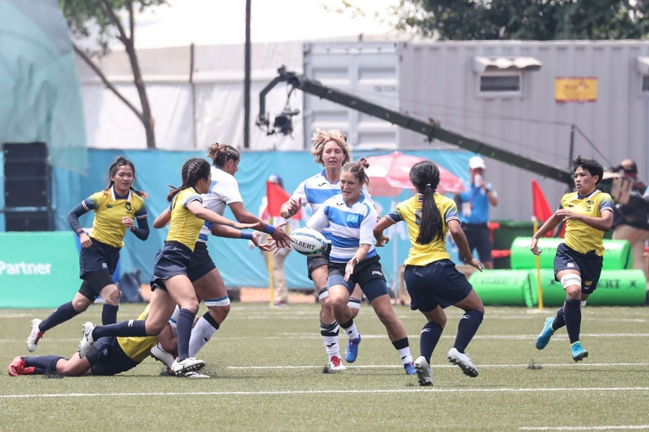 Женская команда по регби «взяла» «бронзу» на Азиаде-2018