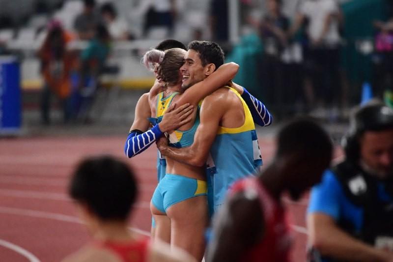 Еще одна медаль от легкоатлетов в смешанной эстафете на Азиаде-2018