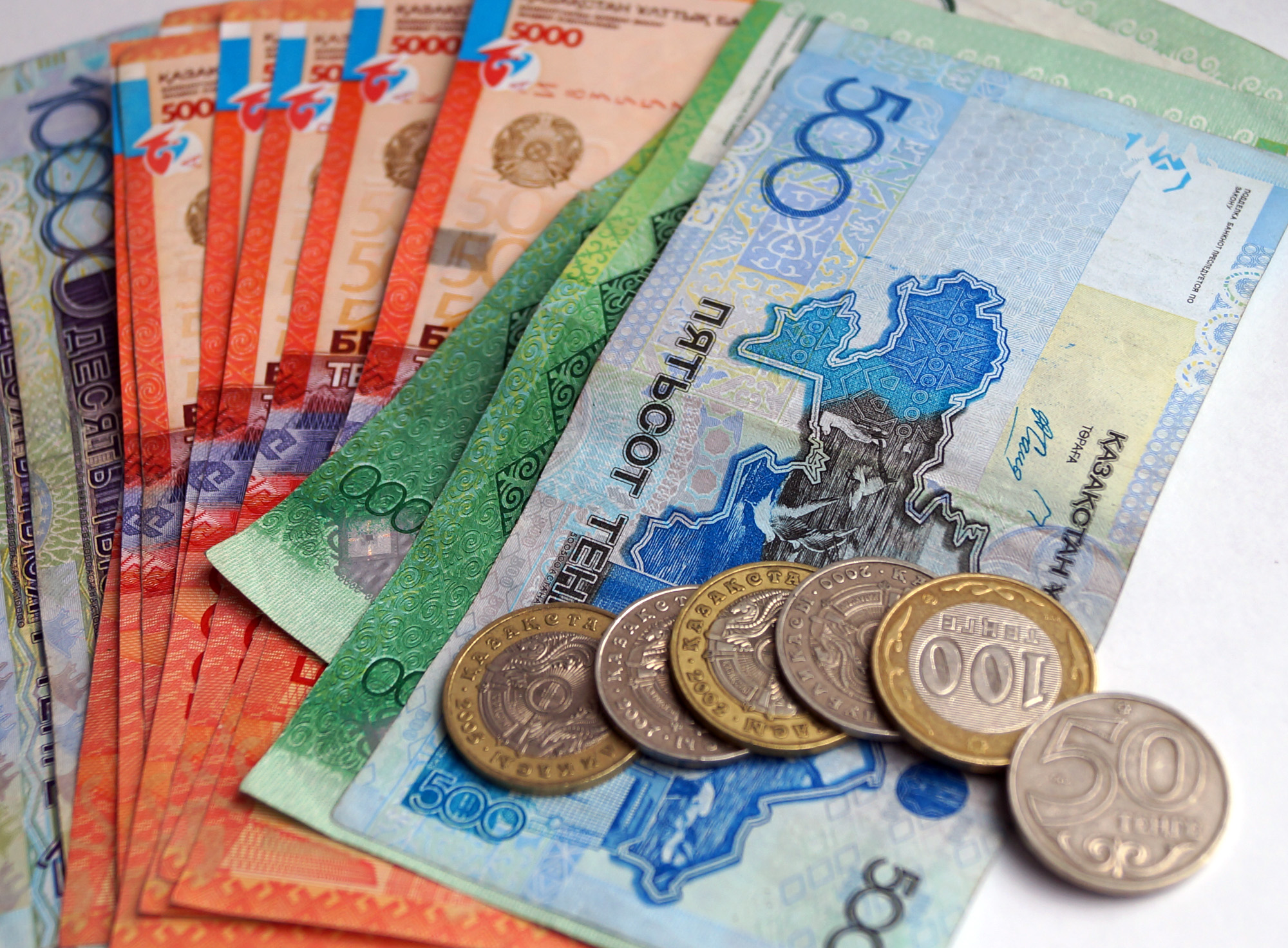 Объём кредитования банками экономики Казахстана за июль вырос на 0,9%