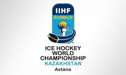 Представлен логотип чемпионата мира по хоккею в Астане