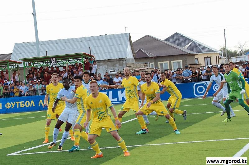 «Атырау» переиграл «Тобол», одержав третью победу подряд в КПЛ