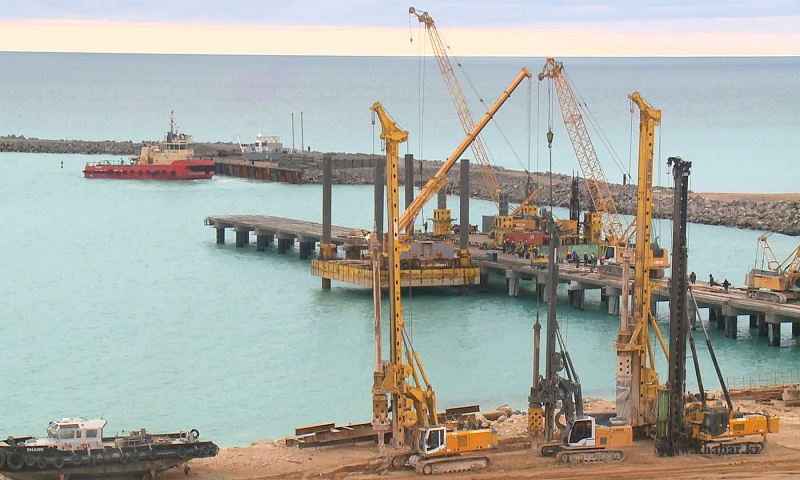 Порт Курык обеспечили системой связи и оповещения