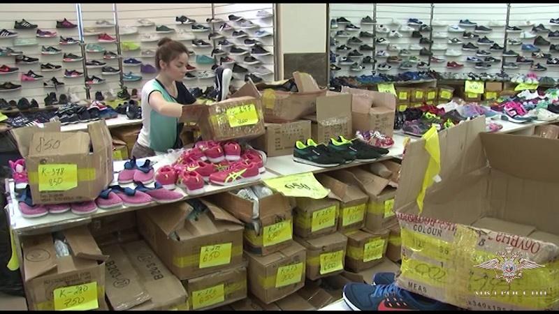Подделки известных брендов уничтожили в Костанайской области