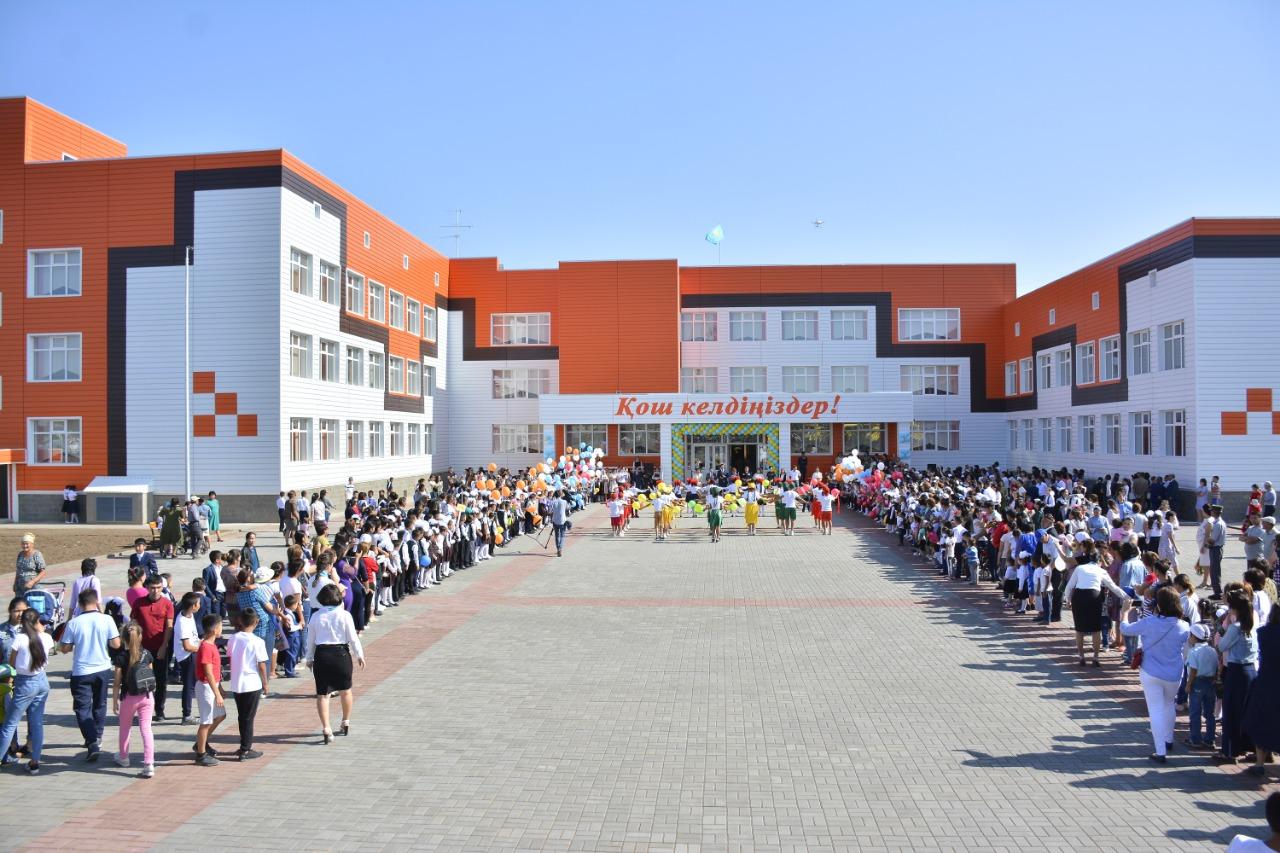 В Актобе открылась школа имени Фаризы Онгарсыновой