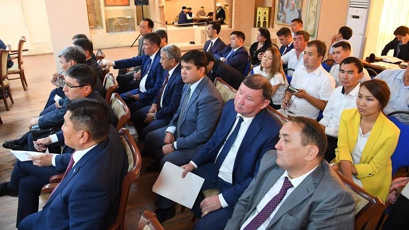 Бакытжан Сагинтаев провел совещание по передислокации госорганов в Туркестанской области
