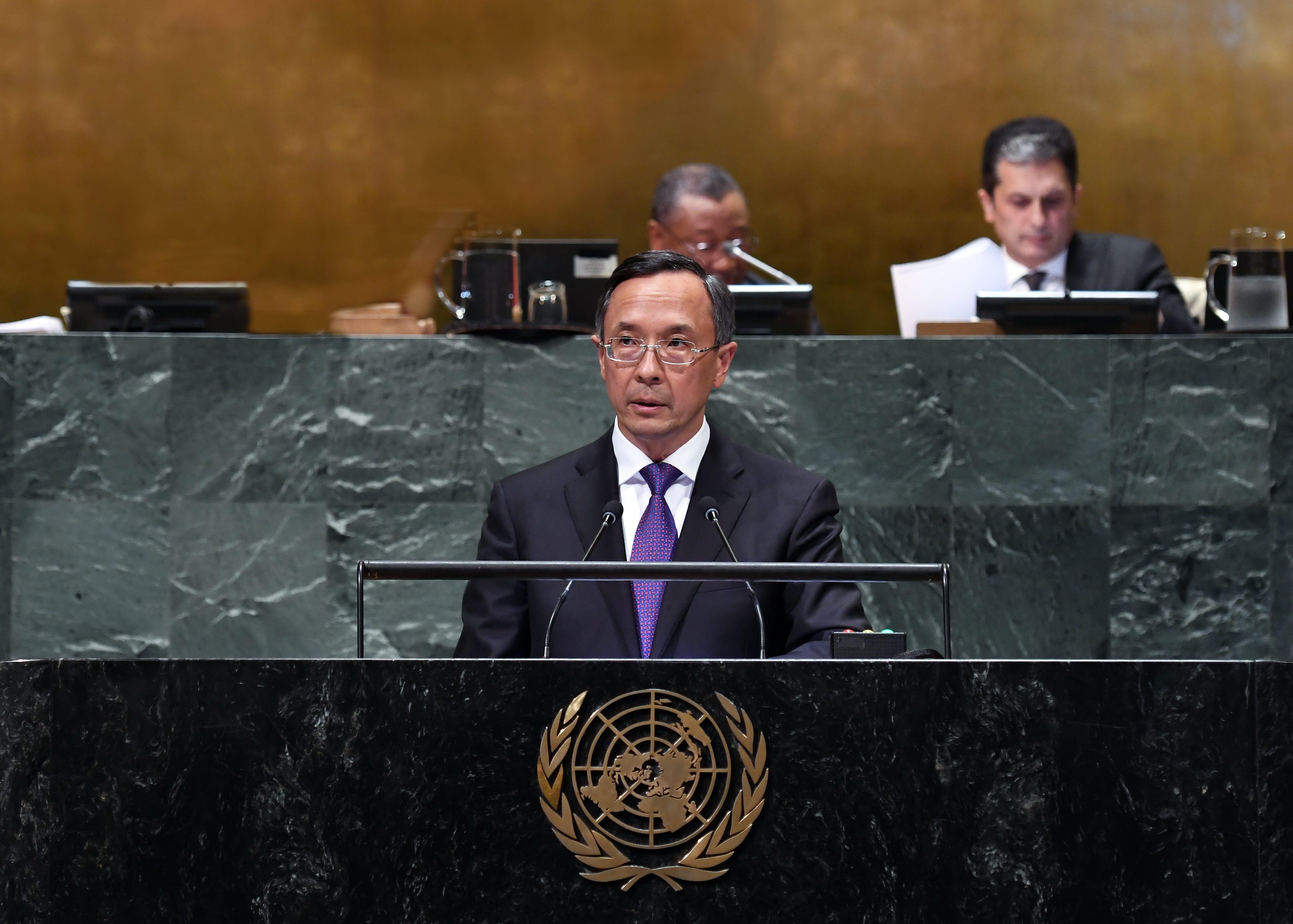 Генассамблея ООН: Казахстан будет оставаться в авангарде решения ключевых международных проблем