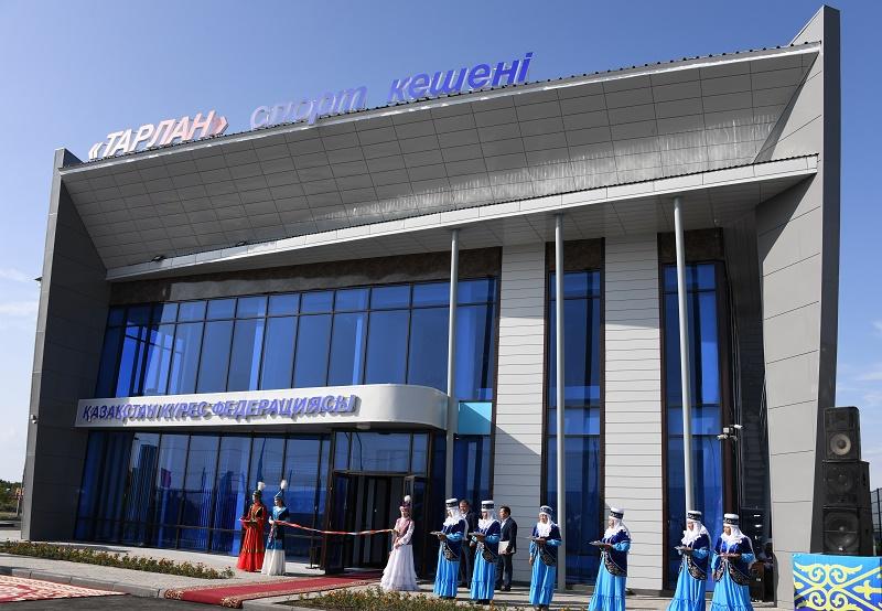 Универсальный физкультурно-оздоровительный комплекс открыт в Алматинской области