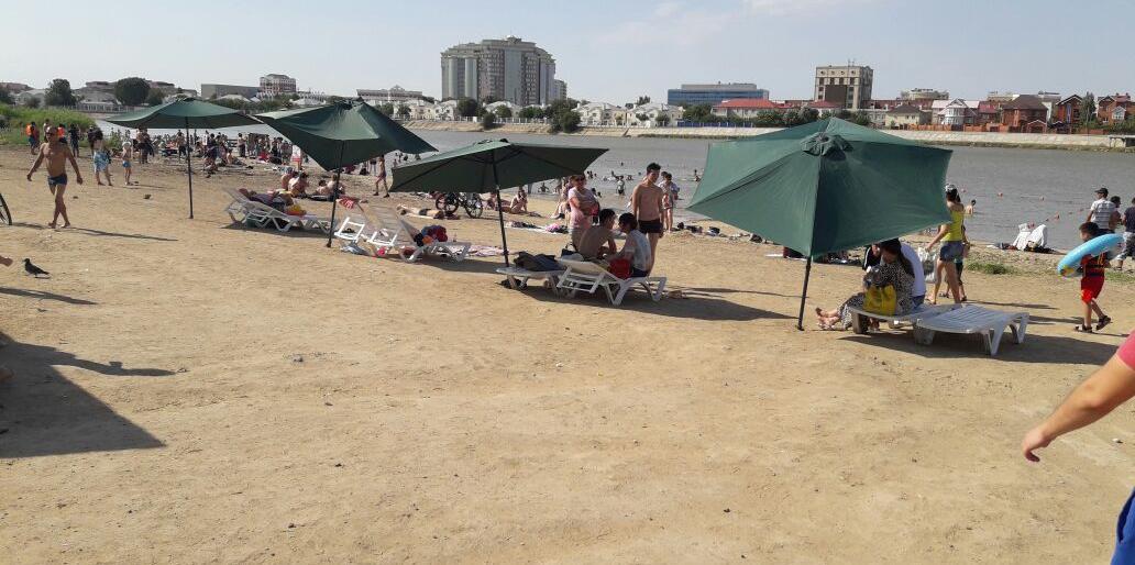 Семь городских пляжей в Атырау передадут в доверительное управление