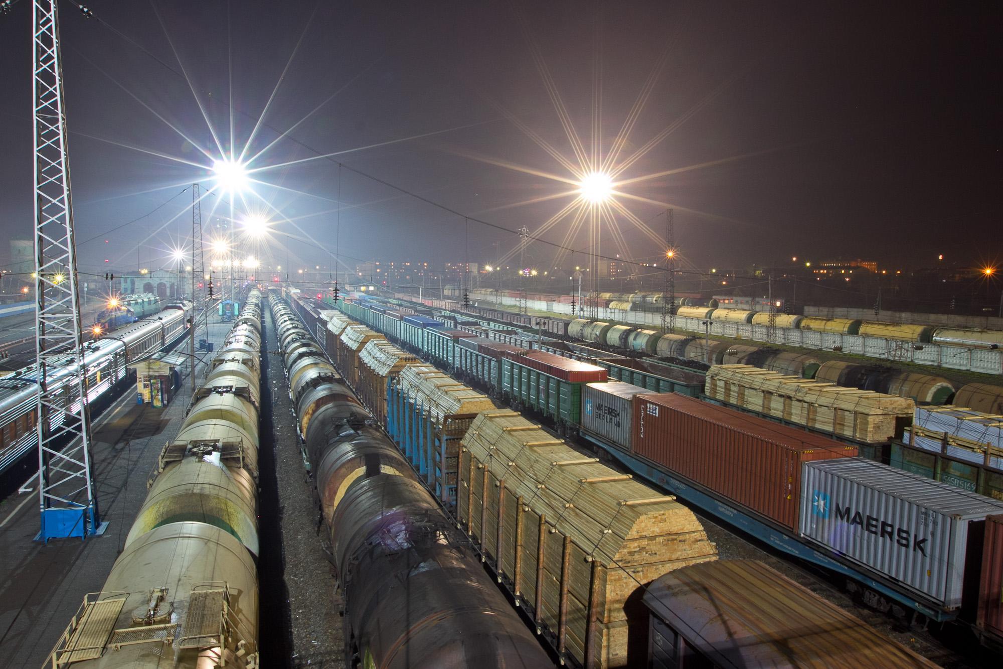 Казахстан через Грузинскую железную дорогу будет транспортировать 600 тыс. т грузов в год