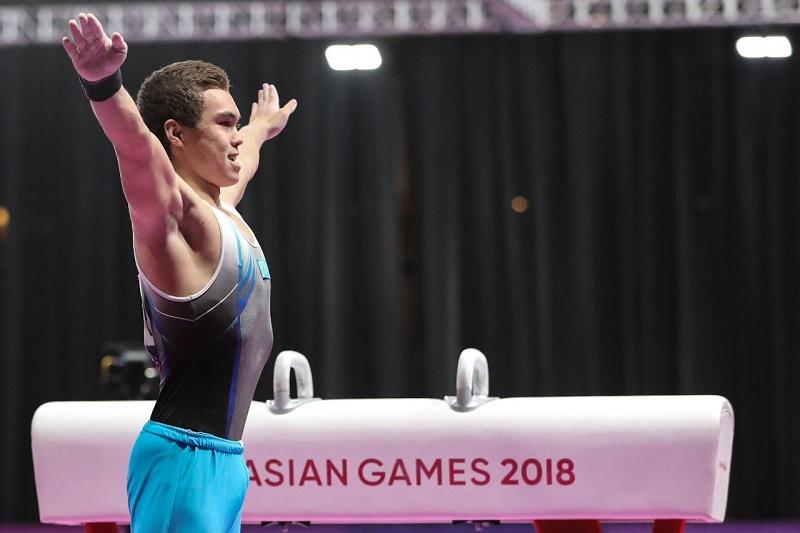 Мужская команда по спортивной гимнастике квалифицировалась в финал Азиады-2018