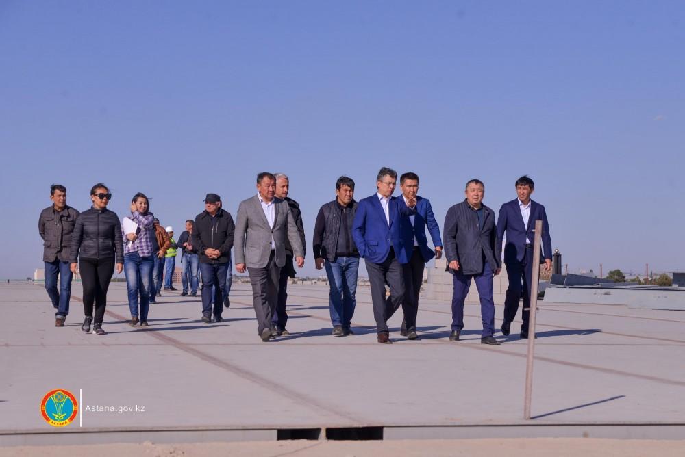 Готовность столицы к отопительному сезону проверил Бахыт Султанов