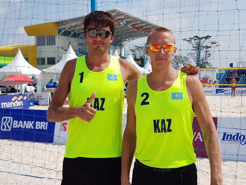Победу на Азиаде-2018 принесли Казахстану мужчины в пляжном волейболе