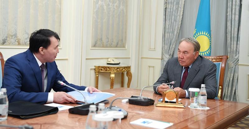 Нурсултаны Назарбаеву доложили о мерах по усилению противодействия коррупционным проявлениям в госорганах