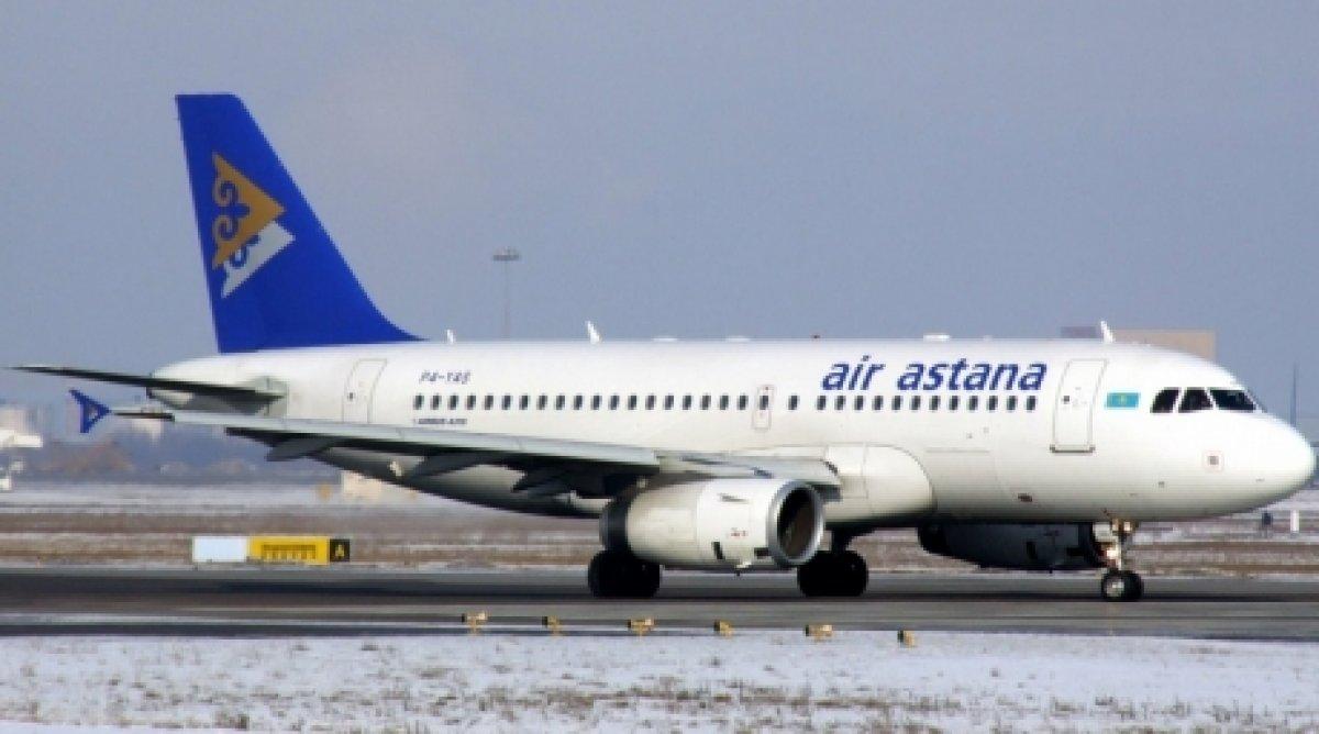 Самолет Air Astana совершил вынужденную посадку в Актау